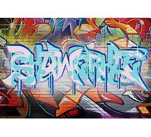 Skqwerkle - Full Colour | Graffiti Mural Photographic Print