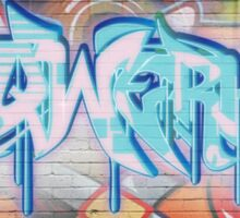 Skqwerkle - Full Colour | Graffiti Mural Sticker