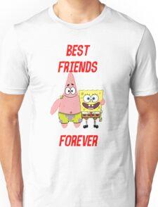 Patrick & Spongebob best friends forever Unisex T-Shirt