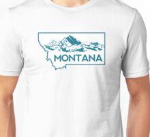 Montana Mountains Unisex T-Shirt