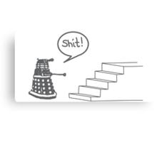 Shit Dalek Canvas Print