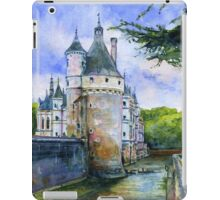 Chenonceau Castle France iPad Case/Skin