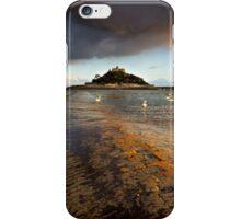 Cornwall - Golden St. Michael's Mount iPhone Case/Skin