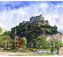 Edinburgh Castle Scotland Photographic Print