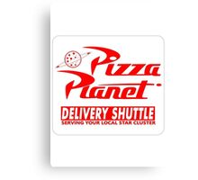 Toy story pizza planet Canvas Print