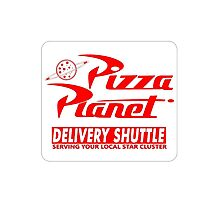 Toy story pizza planet Photographic Print