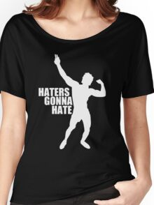 Zyzz Haters Gonna Hate White Women's Relaxed Fit T-Shirt
