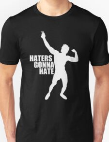 Zyzz Haters Gonna Hate White T-Shirt