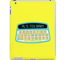 Toy story 2 Al's toy barn iPad Case/Skin