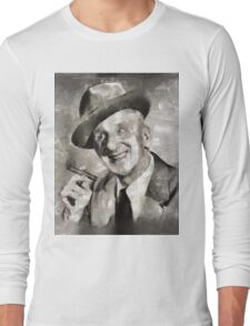 Jimmy Durante, Comedian Long Sleeve T-Shirt