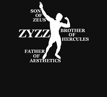 Zyzz Son of Zeus White Unisex T-Shirt