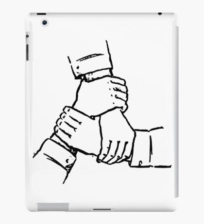 Soviet Hands in Cooperation iPad Case/Skin