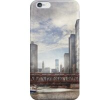 City - Chicago, IL - Looking toward the future  iPhone Case/Skin