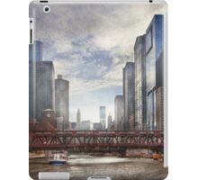 City - Chicago, IL - Looking toward the future  iPad Case/Skin