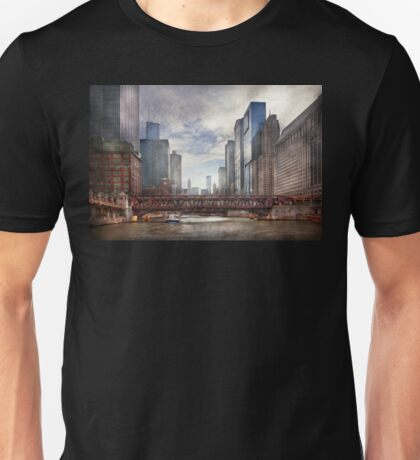 City - Chicago, IL - Looking toward the future  Unisex T-Shirt