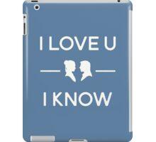 Star Wars - I Love You, I Know (color) iPad Case/Skin