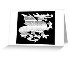 Daenerys Targaryen Dragon  Greeting Card