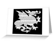 Daenerys Targaryen Dragon  Greeting Card