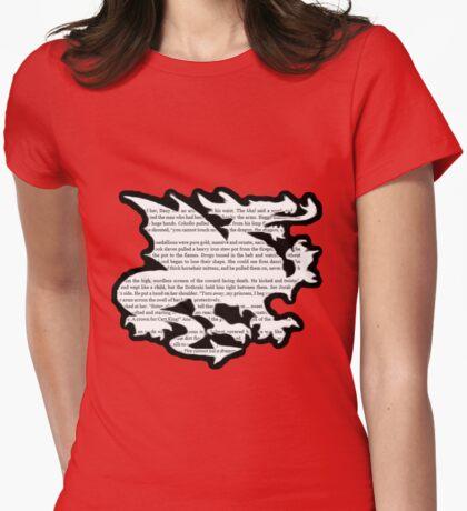 Daenerys Targaryen Dragon  Womens Fitted T-Shirt