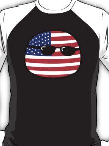 Polandball - USA Big T-Shirt