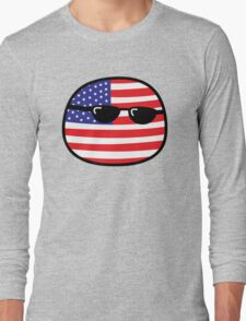 Polandball - USA Big T-Shirt