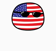Polandball - USA Big Unisex T-Shirt