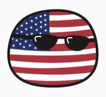 Polandball - USA Small by xzbobzx