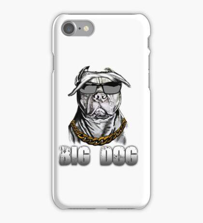 Big dog- Pit bull iPhone Case/Skin