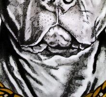 Big dog- Pit bull Sticker