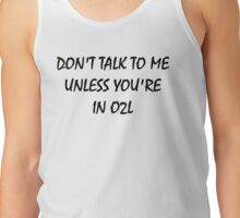 don't touch - IN O2L Tank Top