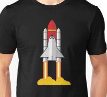 Rocket Space Shuttle Houston Unisex T-Shirt