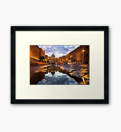 Rome Basilica Framed Print