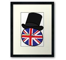 Polandball - Great Britain Big Framed Print