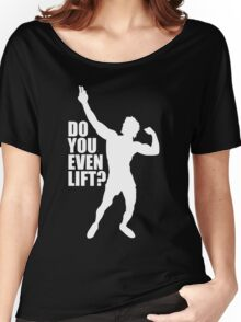 Zyzz Do you Even Lift White Women's Relaxed Fit T-Shirt