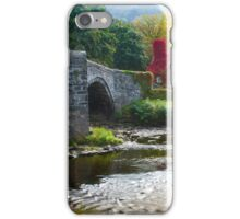 Wales -  Llanrwst Cottage iPhone Case/Skin