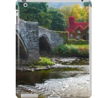 Wales -  Llanrwst Cottage iPad Case/Skin