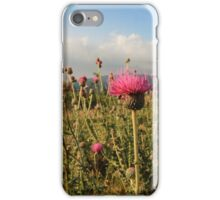 Wildflower Meadow Mountain Countryside iPhone Case/Skin