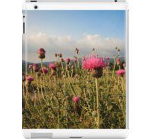 Wildflower Meadow Mountain Countryside iPad Case/Skin