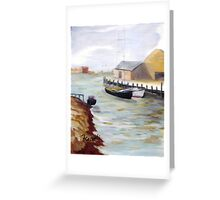 CANAL Greeting Card