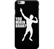 Zyzz You Mirin Brah White iPhone Case/Skin