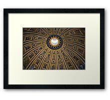 Rome's Dome Framed Print