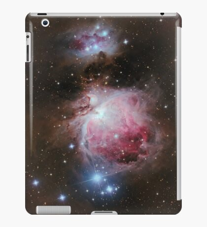 Deep space: Orion Nebula (Messier M42) iPad Case/Skin