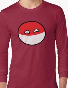 Polandball - Happy Poland Big Long Sleeve T-Shirt