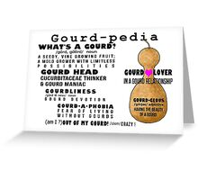 Gourd-pedia What's a Gourd Stationery Note Cards Greeting Card