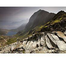 Snowdonia - Snowdon Summit Photographic Print