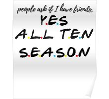 Yes All 10 Season Poster