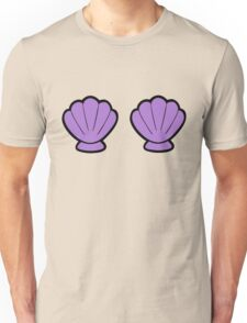Mermaid Shells Bright Pattern Unisex T-Shirt
