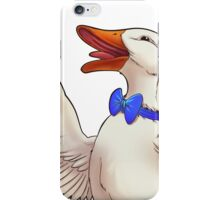 A DAY AT THE DUCK RACES iPhone Case/Skin