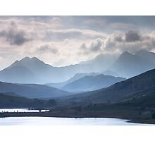 Snowdonia - Snowdon and her Sisters Photographic Print