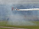 Through The Smoke - Wingwalkers - Shoreham 2014 by Colin J Williams Photography